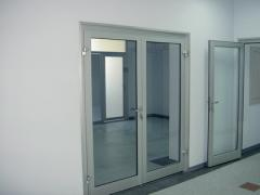 Doors aluminum, entrance doors aluminum, doors