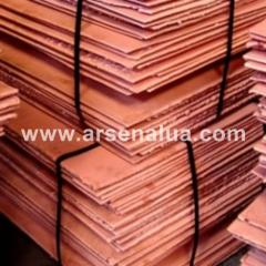 The cathode copper from the direct importer at