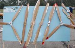 Винты деревянные регулируемые, двух-,