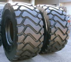 Tires for wheel loaders 29.5R25, 26.5R25, 23.5R25
