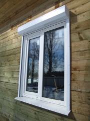 Окна для дачи, окна для дачи REHAU, окна