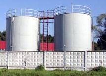 Резервуары металлические для хранения нефтепродуктов
