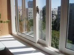 Windows are sliding, aluminum sliding windows,