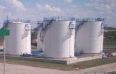 Резервуары вертикальные для хранения нефтепродуктов
