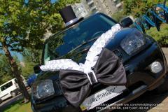 Украшения для машины жениха