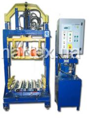 PV-01 vibrating press, for production of paving