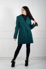 Пальто Фиджи зеленый. Код продукта:710