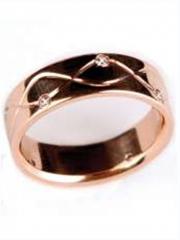 Кольца обручальные золотые Au 585 пробы