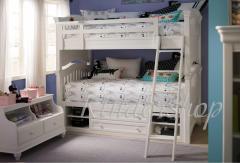 Двухъярусная деревянная кровать Топаз