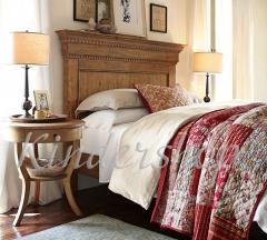 Деревянная двухспальная кровать Addison
