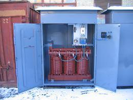 Подстанция трансформаторная комплектная для термообработки бетона и грунта КТП-ОБ-160