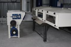 The conveyor the mesh cooling TPC-1000-5