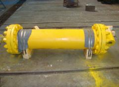 Hydraulic cylinders, driving stations of