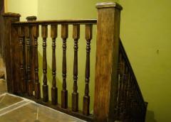 Лестницы из дерева (лестницы деревянные)