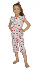 Пижама детская летняя (кулир)