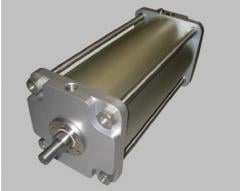 Special pneumatic cylinders of large diameters of