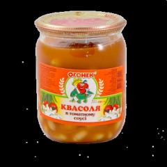 Фасоль консервированная в томатном соусе
