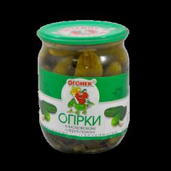 Pickled gherkins 0. 5 l