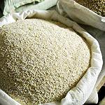 Barley grits of 100 poods