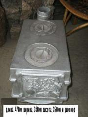 Pig-iron potbelly stoves