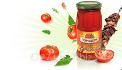 Shashlik tomato sauce
