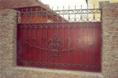 Заборы кованые и ограждения под ключ