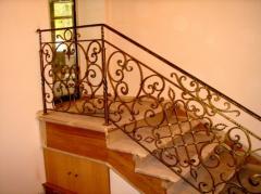 Лестницы кованые под ключ