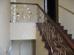 Лестницы кованные ЛП08