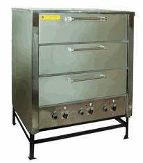 Шкафы пекарские ШПЖЭС-3 трехсекционные