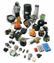 Spare parts to loaders in assortmen