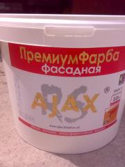 Фарба Фасадна акрилова Премиум AJAX 10л (14кг)