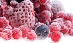 The berries frozen from the producer. Wide choice