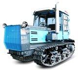 El tractor ХТЗ-150-05-09 de oruga
