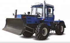El tractor ХТЗ-17221-06 de rueda con buldozernym
