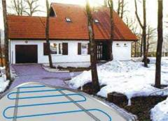 Systems of snowmelt, snowmelt on the basis of the heating EKSON™ cable