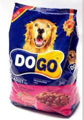 Корм сухой с  мясом домашней птицы DOGO