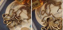 Подвесное ожерелье Пираты Карибского моря Осьминог