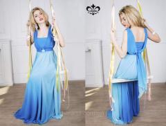 Платье Мираж (голубой)
