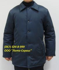 Куртка х/б зимняя Харьков