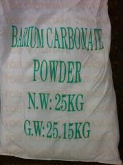Uhličitan barnatý, uhličitan barnatý