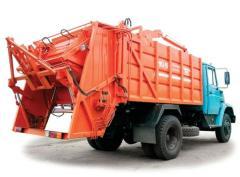 Car utility garbage trucks