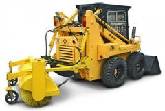 Harvest road machines (brush)