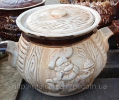 Глиняный горшок 3 л