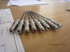 Needles for filling of ampoules, bottles and