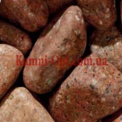 Porfirny pebble of orange 25-40 mm