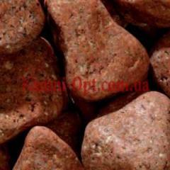 Porfirny pebble of orange 40-60 mm