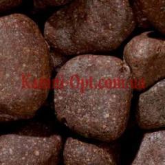 Porfirny pebble of brown 40-60 mm