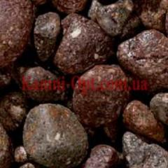 Porfirny pebble of brown 15-25 mm