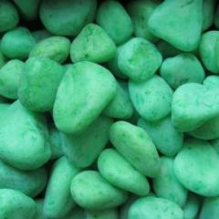 Stones decorative green for lanshaftny design