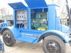 Diesel electrical unit of AD-20T/400-1R